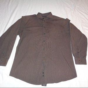 Alfani Men's Button Down Dress Shirt